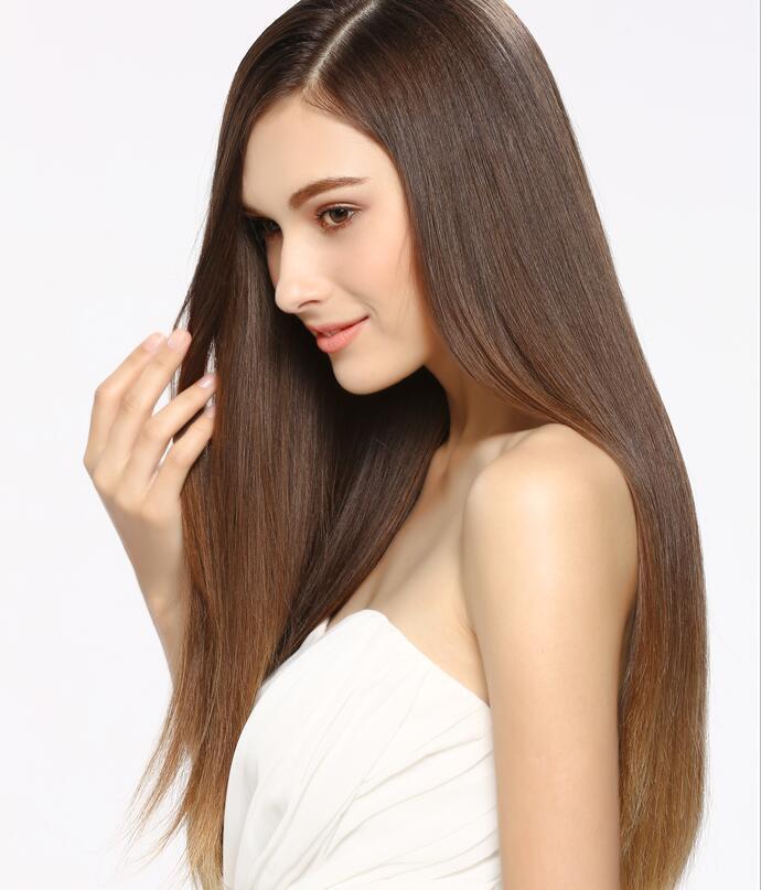keratin straightening hair