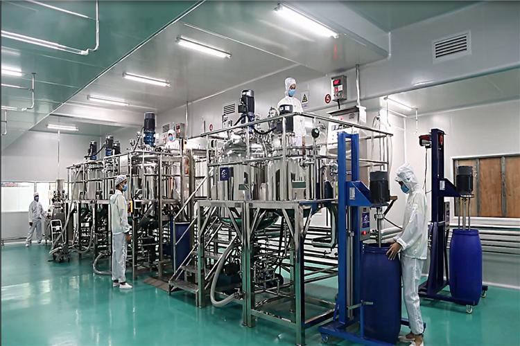 Sun Sara Cosmetics factory